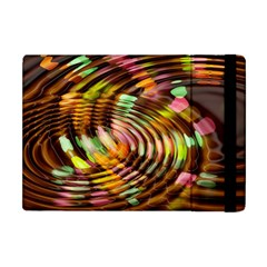Wave Rings Circle Abstract Apple Ipad Mini Flip Case