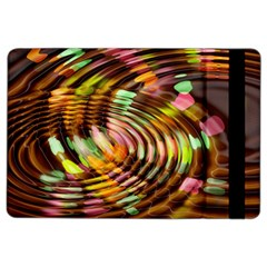 Wave Rings Circle Abstract Ipad Air 2 Flip