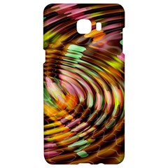 Wave Rings Circle Abstract Samsung C9 Pro Hardshell Case  by Nexatart