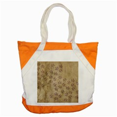 Parchment Paper Old Leaves Leaf Accent Tote Bag by Nexatart