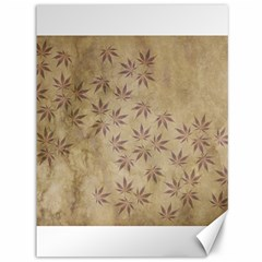 Parchment Paper Old Leaves Leaf Canvas 36  X 48   by Nexatart
