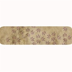 Parchment Paper Old Leaves Leaf Large Bar Mats by Nexatart
