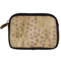 Parchment Paper Old Leaves Leaf Digital Camera Cases by Nexatart