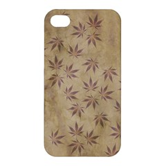 Parchment Paper Old Leaves Leaf Apple Iphone 4/4s Hardshell Case by Nexatart