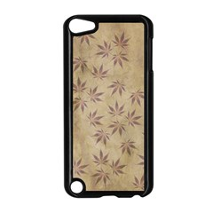 Parchment Paper Old Leaves Leaf Apple Ipod Touch 5 Case (black) by Nexatart