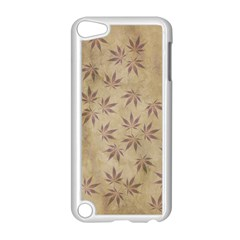 Parchment Paper Old Leaves Leaf Apple Ipod Touch 5 Case (white) by Nexatart