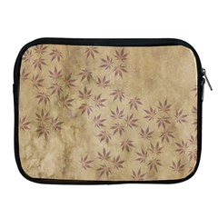 Parchment Paper Old Leaves Leaf Apple Ipad 2/3/4 Zipper Cases by Nexatart