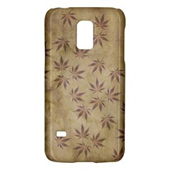 Parchment Paper Old Leaves Leaf Galaxy S5 Mini by Nexatart