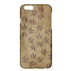 Parchment Paper Old Leaves Leaf Apple Iphone 6 Plus/6s Plus Hardshell Case