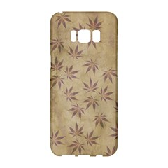 Parchment Paper Old Leaves Leaf Samsung Galaxy S8 Hardshell Case