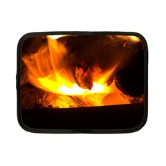 Fire Rays Mystical Burn Atmosphere Netbook Case (small)  by Nexatart