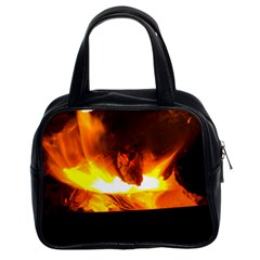 Fire Rays Mystical Burn Atmosphere Classic Handbags (2 Sides)