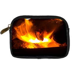 Fire Rays Mystical Burn Atmosphere Digital Camera Cases by Nexatart