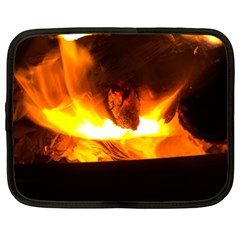 Fire Rays Mystical Burn Atmosphere Netbook Case (xxl)  by Nexatart