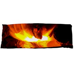 Fire Rays Mystical Burn Atmosphere Body Pillow Case Dakimakura (two Sides)