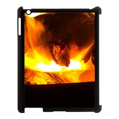 Fire Rays Mystical Burn Atmosphere Apple Ipad 3/4 Case (black) by Nexatart