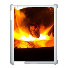 Fire Rays Mystical Burn Atmosphere Apple Ipad 3/4 Case (white) by Nexatart