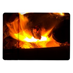 Fire Rays Mystical Burn Atmosphere Samsung Galaxy Tab 10 1  P7500 Flip Case by Nexatart