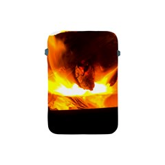 Fire Rays Mystical Burn Atmosphere Apple Ipad Mini Protective Soft Cases by Nexatart