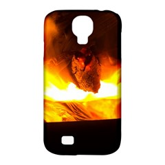 Fire Rays Mystical Burn Atmosphere Samsung Galaxy S4 Classic Hardshell Case (pc+silicone)