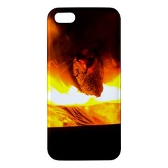 Fire Rays Mystical Burn Atmosphere Iphone 5s/ Se Premium Hardshell Case by Nexatart
