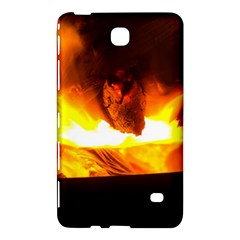 Fire Rays Mystical Burn Atmosphere Samsung Galaxy Tab 4 (8 ) Hardshell Case  by Nexatart