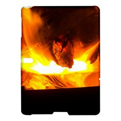 Fire Rays Mystical Burn Atmosphere Samsung Galaxy Tab S (10 5 ) Hardshell Case  by Nexatart