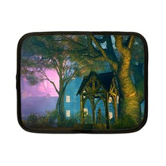 Background Forest Trees Nature Netbook Case (small)