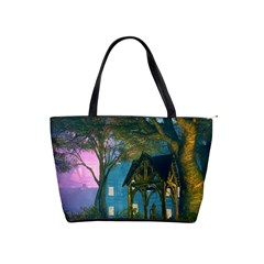 Background Forest Trees Nature Shoulder Handbags by Nexatart