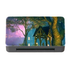 Background Forest Trees Nature Memory Card Reader With Cf by Nexatart
