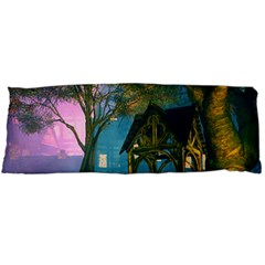 Background Forest Trees Nature Body Pillow Case (dakimakura)