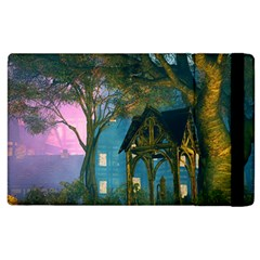Background Forest Trees Nature Apple Ipad 2 Flip Case