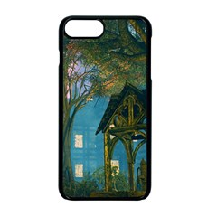 Background Forest Trees Nature Apple Iphone 7 Plus Seamless Case (black) by Nexatart