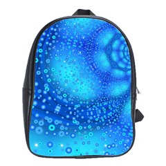 Bokeh Background Light Reflections School Bags(large)  by Nexatart