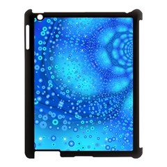 Bokeh Background Light Reflections Apple Ipad 3/4 Case (black) by Nexatart