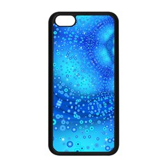 Bokeh Background Light Reflections Apple Iphone 5c Seamless Case (black) by Nexatart