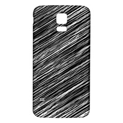 Background Structure Pattern Samsung Galaxy S5 Back Case (white)