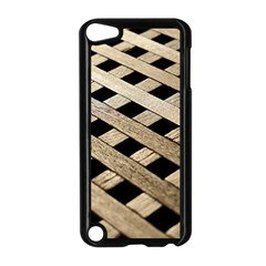 Texture Wood Flooring Brown Macro Apple Ipod Touch 5 Case (black) by Nexatart