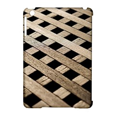 Texture Wood Flooring Brown Macro Apple Ipad Mini Hardshell Case (compatible With Smart Cover)