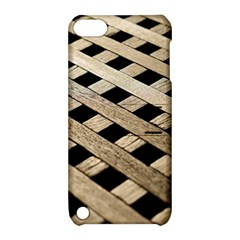 Texture Wood Flooring Brown Macro Apple Ipod Touch 5 Hardshell Case With Stand