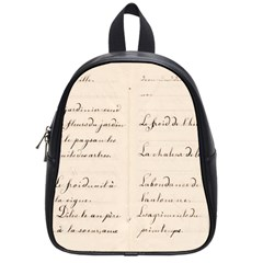 German French Lecture Writing School Bags (small)