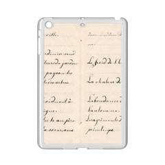German French Lecture Writing Ipad Mini 2 Enamel Coated Cases by Nexatart