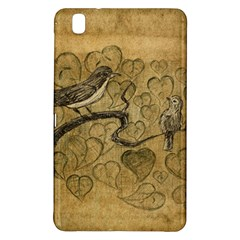 Birds Figure Old Brown Samsung Galaxy Tab Pro 8 4 Hardshell Case