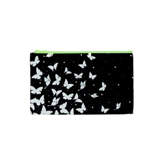 Butterfly Pattern Cosmetic Bag (xs)