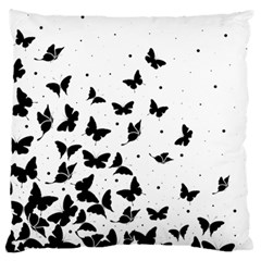 Butterfly Pattern Large Cushion Case (two Sides)