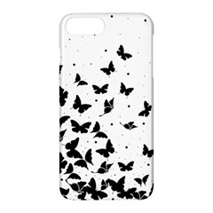 Butterfly Pattern Apple Iphone 7 Plus Hardshell Case by Valentinaart
