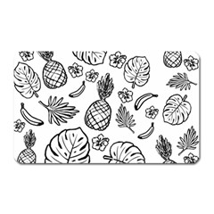 Tropical Pattern Magnet (rectangular)