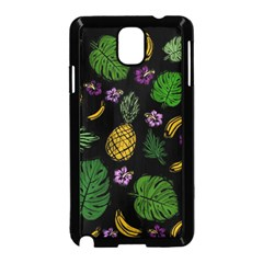 Tropical Pattern Samsung Galaxy Note 3 Neo Hardshell Case (black)