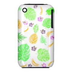 Tropical Pattern Iphone 3s/3gs by Valentinaart