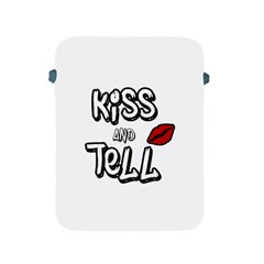 Kiss And Tell Apple Ipad 2/3/4 Protective Soft Cases by Valentinaart